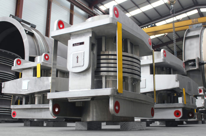 High Pressure + High Temperature Expansion Joints for US customer