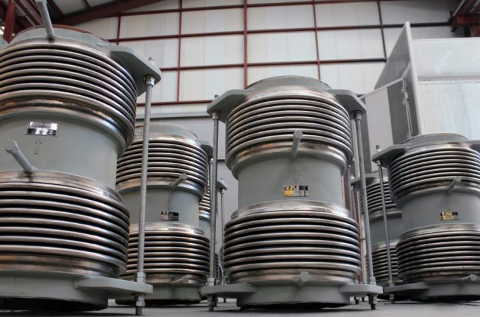 Expansion Joints for Steel Plant in Ukraine