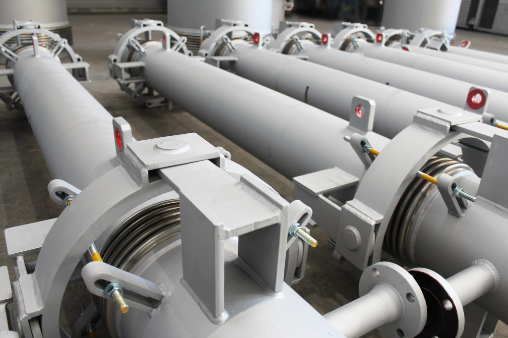 High-Tech Expansion Joints for Steel producer and Iron Direct Reduction Plant in Africa