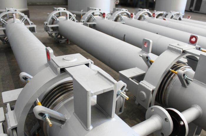 Compensadores de Dilatación De Alta Tecnología para Plantas de Fabricación de Acero y Plantas de Reducción Directa de hierro en África