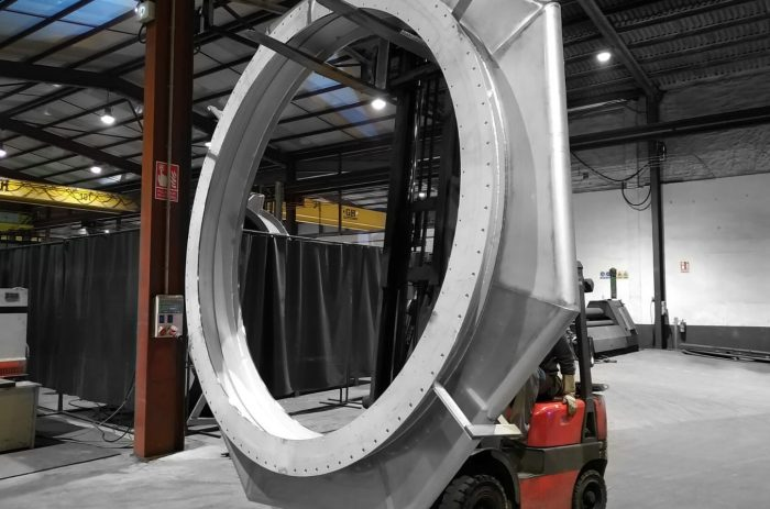 Octagonal Expansion Joint for Scandinavian cement plant