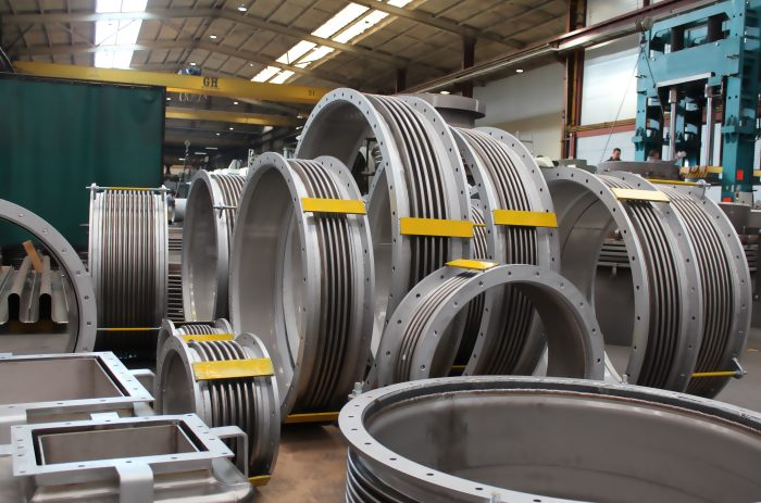 Single Untied and Rectangular Expansion Joints for world leading supplier of technologies for pulp and paper industry
