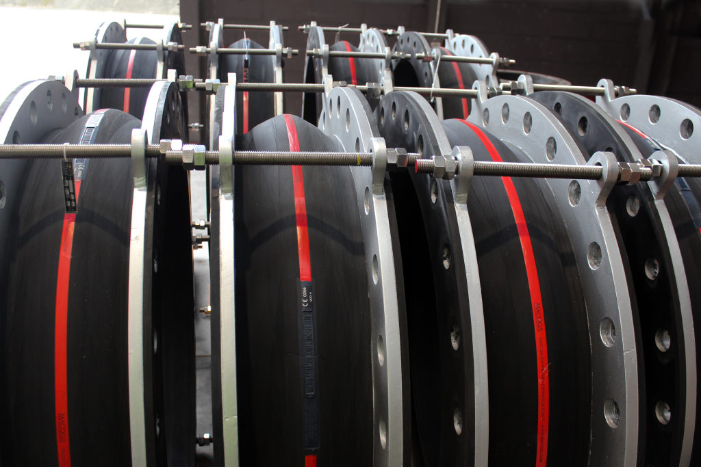 High Quality EPDM Rubber Expansion Joints for Sewage Pumping Station in the Middle East