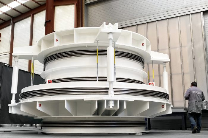 Large size Expansion Joints for Jaguatirica II Power Plant in Brazil