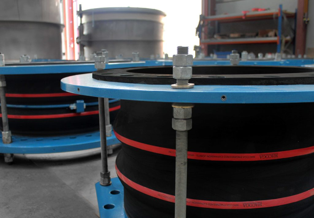 Metal In-Line Pressure Balanced and Rubber Expansion Joints for a Refinery in the Middle East