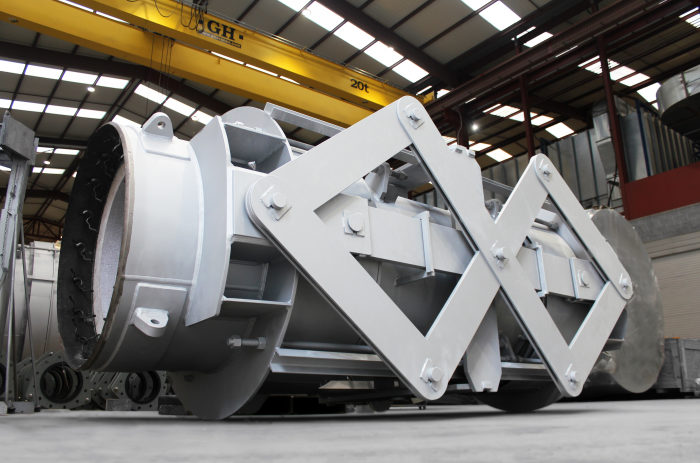 FCCU Expansion Joints for Middle East Refinery