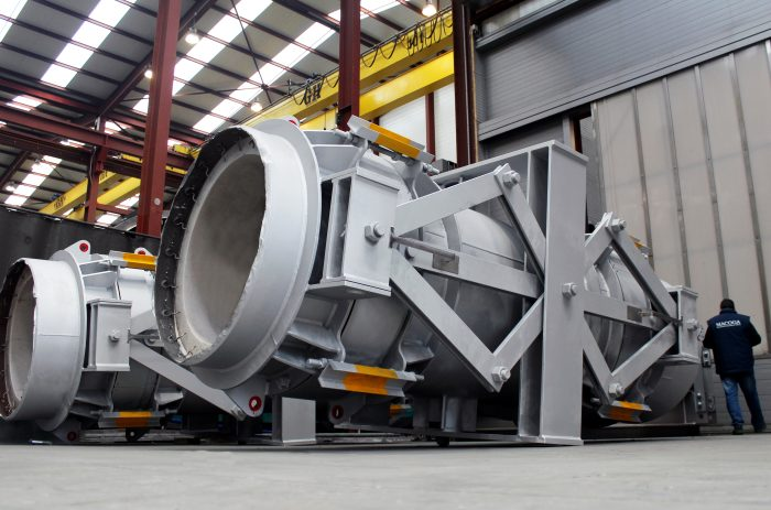 FCCU Spent Catalyst and Regenerated Catalyst Expansion Joints for East European Refinery
