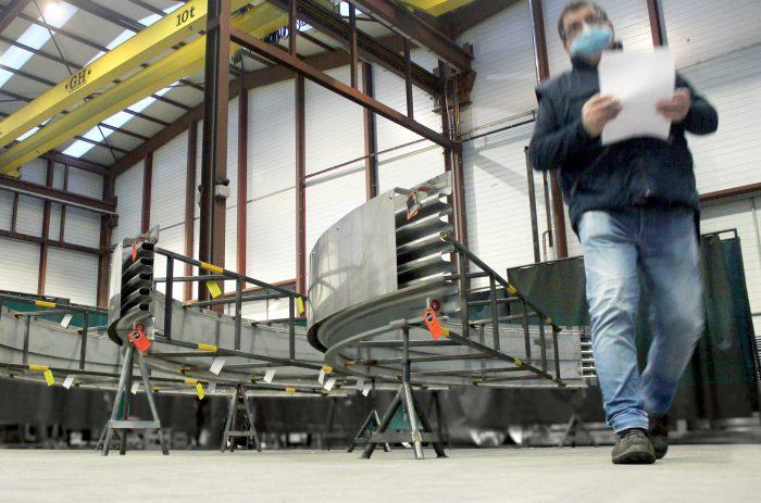 Compensador de Dilatación Clamshell de 7 metros de diámetro para una planta de generación eléctrica en Connecticut, Estados Unidos