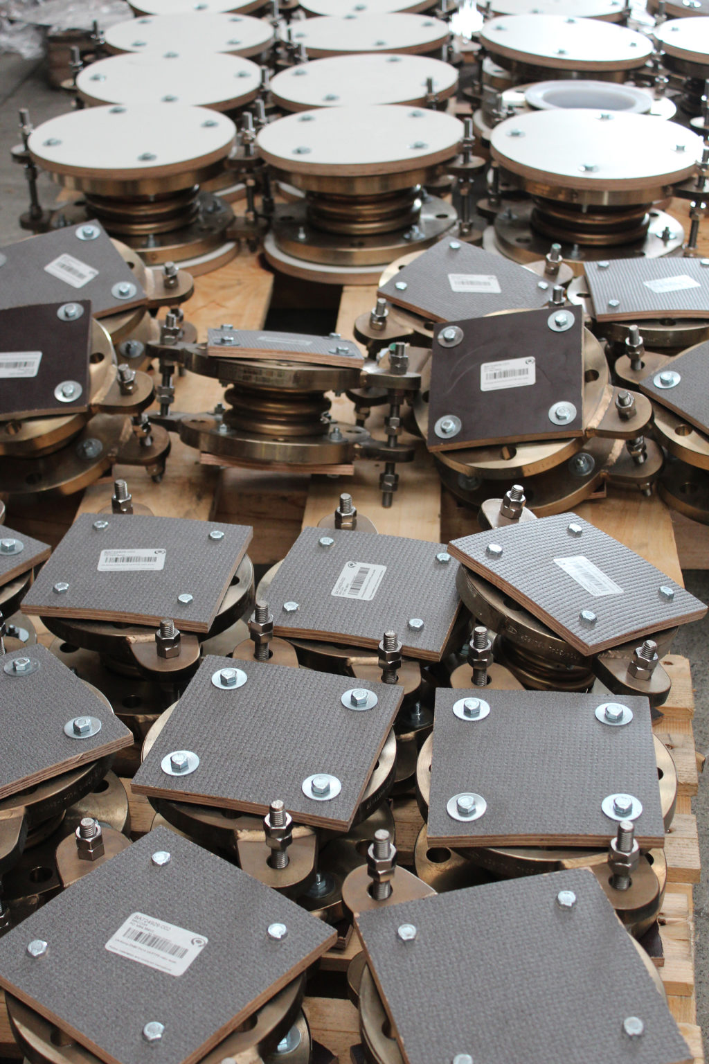 PTFE lined Expansion Joints for Phosphate Fertilizers Plant