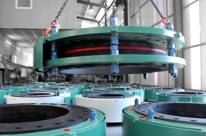 High Pressure Rubber Expansion Joints for ADNOC Desalination Plant - Waste Heat Recovery Project in Abu Dhabi
