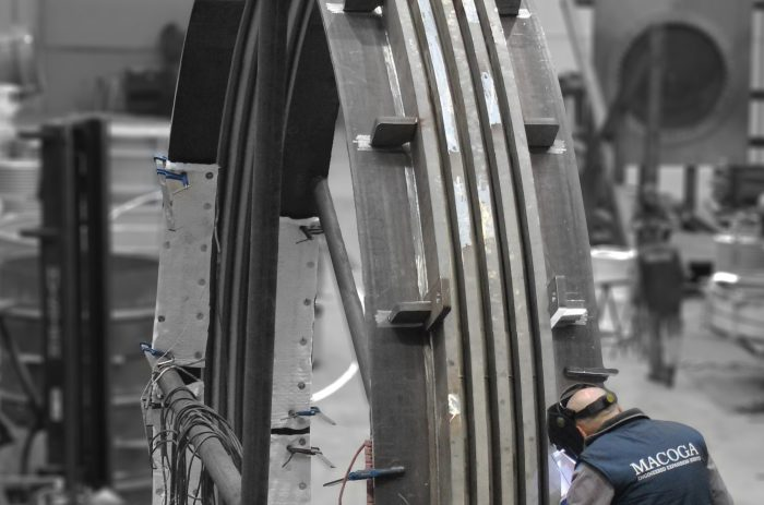 High Pressure DN 5200 Expansion Joint for ExxonMobil in Scotland, UK.