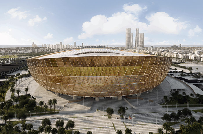 MACOGA supplies High-Tech Rubber Expansion Joints for the FIFA World Cup Qatar 2022 Lusail Iconic Stadium.